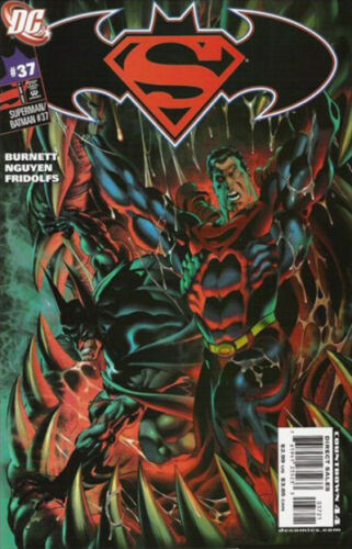 Claudio Castellini Variant Superman//Batman #37 2003-2011