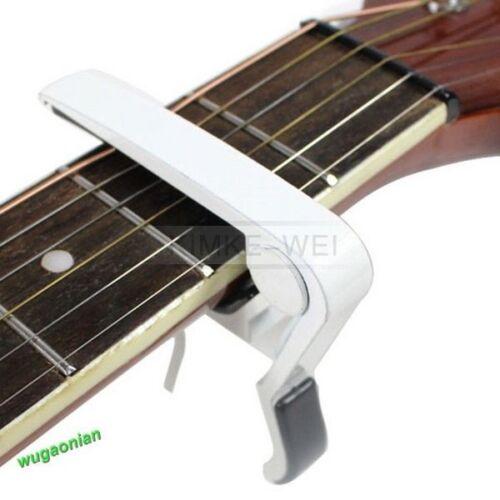 Kapodaster Capodaster Kapo Capo Elektro Akustik für Gitarre Guitar Clamp 7 Farbe