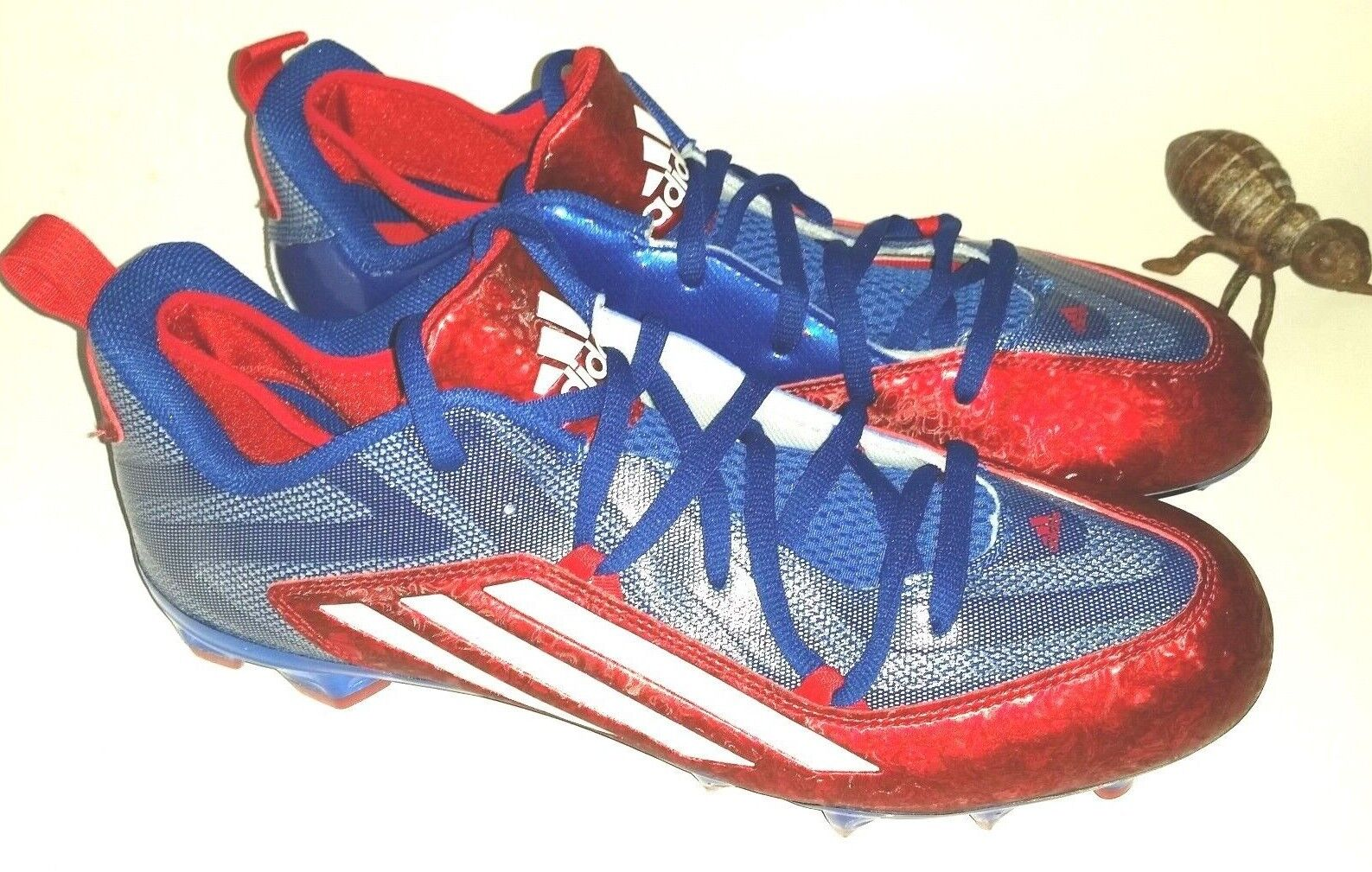 Adidas Crazyquick 2.0L American Football Cleats Men's 13.5 Patriotic USA Red NEW Brand discount