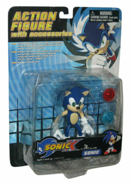 Sonic The Hedgehog X Toy Island Action Figure 37401 For Sale Online Ebay