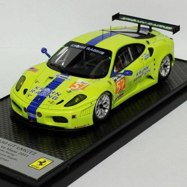 BBR 1 43 Ferrari 430 GT2 Le Mans 2011 BBRC68 BBRC68 BBRC68 limited 100 pcs 91006b