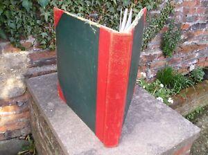 HUGE-7-5kg-vintage-Yorkshire-newspaper-accounts-ledger-business-cash-book-news