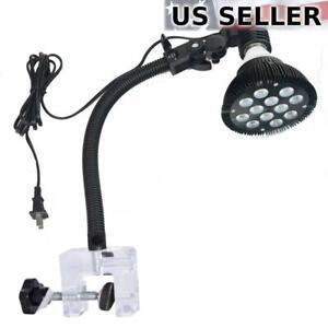 Flexible-Aquarium-Lamp-Light-Holder-Clamp-for-Standard-US-LED-amp-CFL-Bulbs-15-034