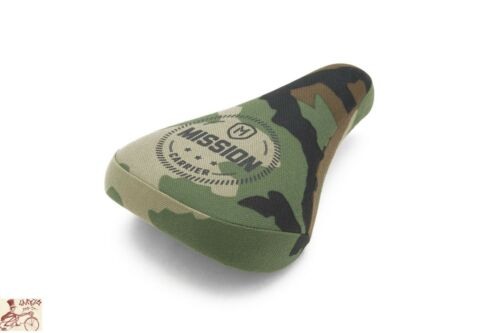 MISSION CARRIER STEALTH CAMO PIVOTAL BICYCLE SEAT
