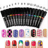 16 Color Women Delicate Beauty Nail Art  Pens Polish DIY Design Manicure Tools