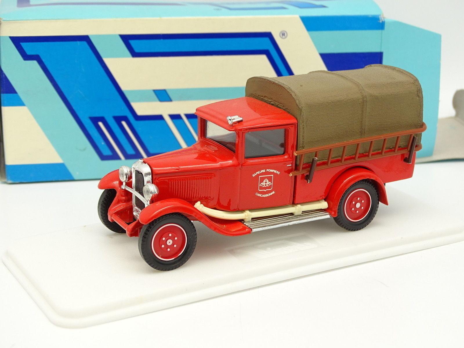 Micarola Solido 1 43 - Citroen C4F Pompiers Carcassonne