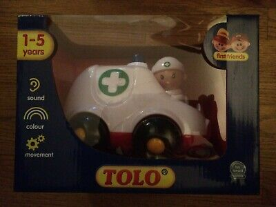 Doc Mcstuffins Rosie Toy Toddler Pretend Play Girl Gift Dr Ambulance Sounds NEW