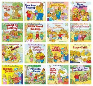 n NEW The Berenstain Bears Set of 16 Living Lights Storybook Kids Reader Book