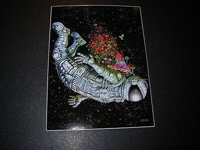 "EMEK 3X4/"" Pearl Jam Charlotte 1996 STICKER decal from silkscreen poster print"