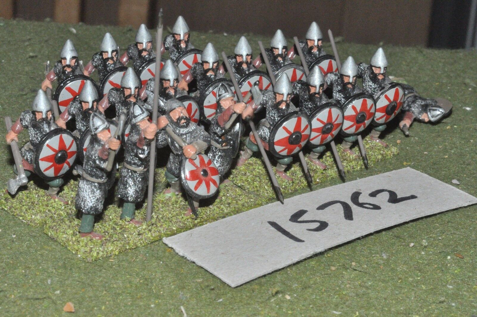 25mm dark age byzantine varangian guard 20 figures (15762)