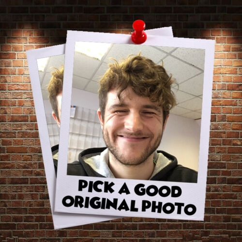 6 x personalizzata crea la tua foto fai da te Faccia Maschere Personalizzate Festa Maschere foto