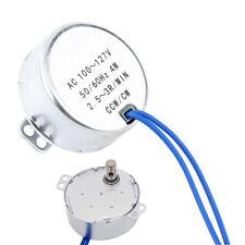 Synchronous Gear Motor AC 24V 2.5-3RPM 50-60Hz Electric Motor CCW//CW 4W