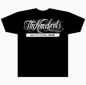 The-Knockouts-Among-The-Vultures-T-Shirt-2010-size-XL