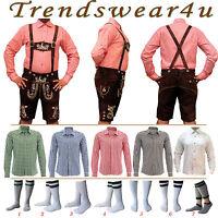 Oktoberfest Lederhosen German Bavarian Trachten Short Outfit Package / Set - 375