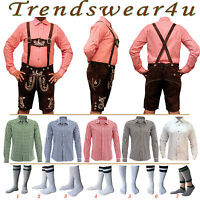 Oktoberfest Lederhosen German Bavarian Trachten Short Outfit Package / Set - 375
