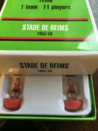 Leggenda Vintage Team Subbuteo Legends Stade De Reims 1955//56