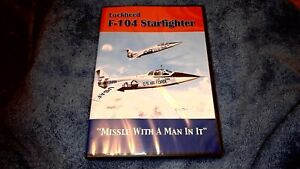 """Lockheed F-104 Starfighter....""""Missile With A Man In It""""....DVD"""