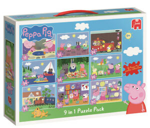 Peppa Pig 9 In 1 Bumperpack Jigsaw Puzzle 18482