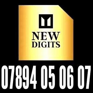 Oro Reino Unido memorable fácil de recordar número de teléfono móvil SIM tarjeta Platinum Vip