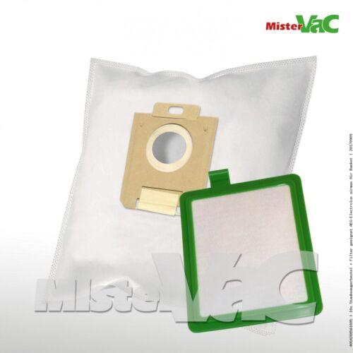 10x Staubsaugerbeutel Filter geeignet Philips FC9192//01 PerformerPro