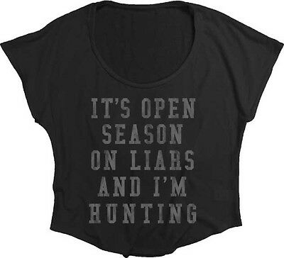 Pretty Little Liars Open Season Junior Fashion Dolman Shirt S-XL