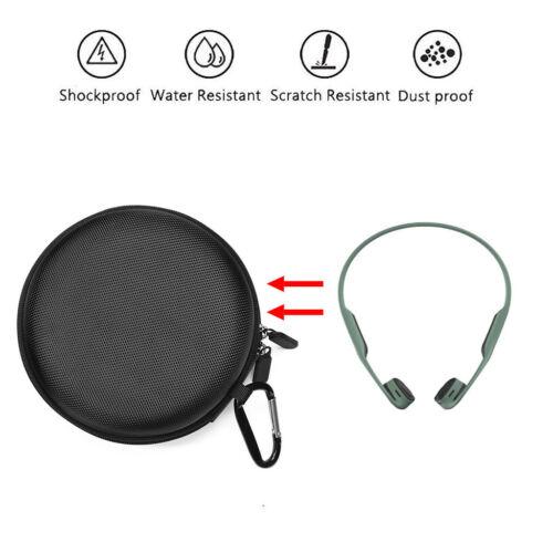 Travel Bag Portable Case for AfterShokz AS650Trekz Air Wireless Bone Headphones
