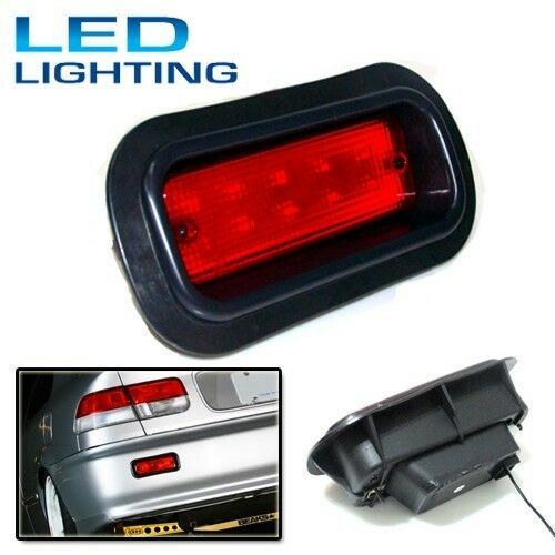 Honda Civic Acura Accord Rear Bumper Red Fog Brake LED Light Lamp EK EG DC2 DB8
