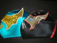 Adult 2 Sin Cara Wrestling Masks Foamy Adulto Size Mascaras Lucha Libre
