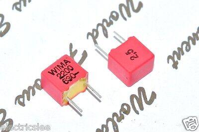 10pcs - WIMA FKP2 2200P (2.2nF) 630V 2.5% pich:5mm Polypropylene Foil Capacitor