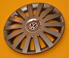 "4x15"" VW Touron, Caddy, Polo, Adornos, cubiertas de rueda Golg.., Tapacubos, Grafito, 15 pulgadas"