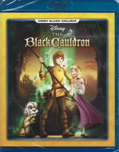 The Black Cauldron (Blu-ray Disc, 2021, Disney Movie Club Exclusive) NEW!