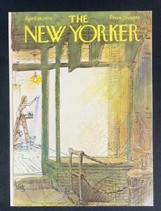 COVER-ONLY-The-New-Yorker-Magazine-April-19-1976-Arthur-Getz