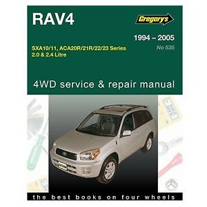 gregory s car manual for toyota rav4 1994 2005 535 9781620921050 rh ebay com au Toyota Rav Manual Toyota Yaris Manual