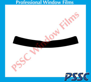 PSSC Pre Cut Sun Strip Car Window Films for BMW 1 Series Coupe 2007 to 2016 05/% Very Dark Limo Tint