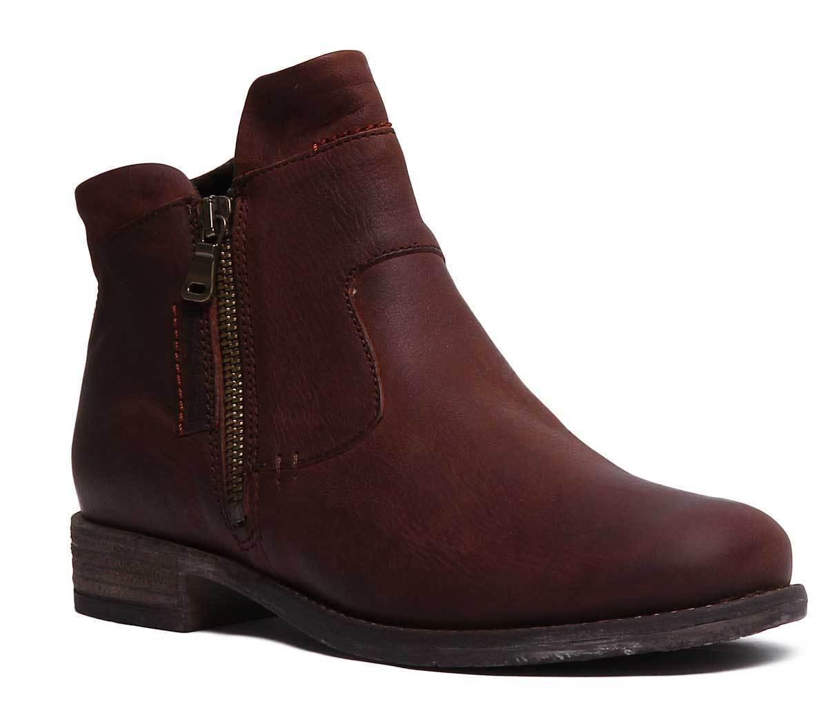 Josef Seibel Sienna 87 donna Leather Matt Camel  Ankle stivali UK Dimensione 3 - 8  presa di marca