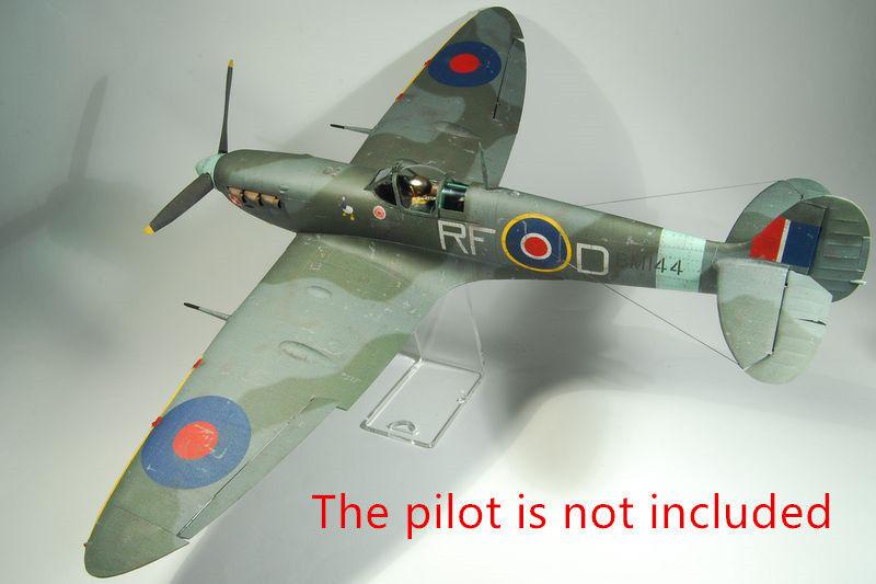Details about 1:33 Scale WW2 British Supermarine Spitfire MK  Vb Handcraft  Paper Model Kit New
