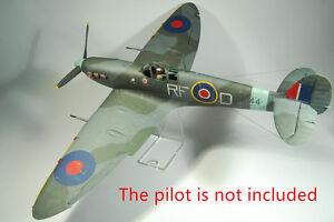 1-33-Scale-WW2-British-Supermarine-Spitfire-MK-Vb-Handcraft-Paper-Model-Kit