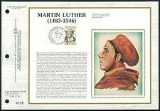FRANCE CEF 1983 MARTIN LUTHER LUTERO REFORMATION REFORMER LTD. EDITION z2134