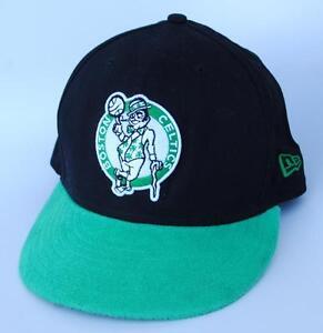 7ecffae9a BOSTON CELTICS NBA Baseball Cap Hat One Size Snapback Flat Bill NEW ...