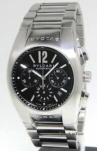 ed4b9df78af Image is loading Bvlgari-Ergon-Chronograph -Stainless-Steel-Automatic-Mens-Watch-