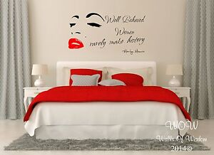 Captivating ... Marilyn MONROE Sexy Adulte Citation Autocollant Mural Wall