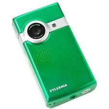 "SYLVANIA DV-2100 GREEN POCKET DIGITAL 2"" LCD VIDEO CAMCORDER / CAMERA 4X ZO"
