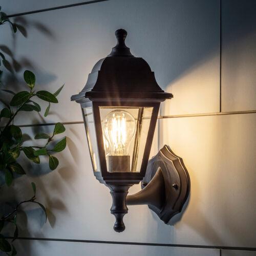 Outdoor Nero VINTAGE CARROZZA Rete Elettrica Muro Luce E27 RACCORDO 35cm con luci 4fun