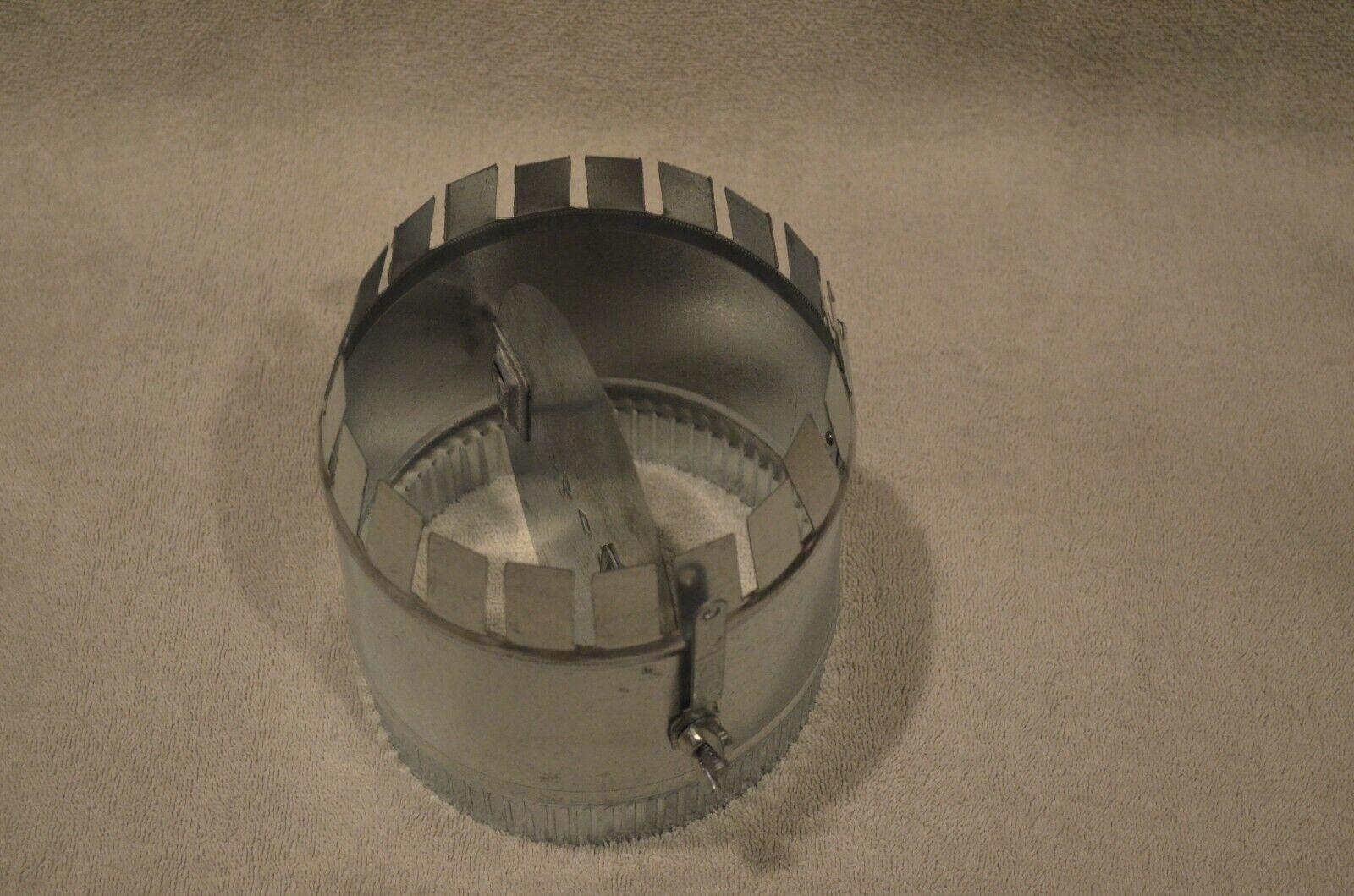 6 In Diameter DAYTON Balancing Damper,Round 2TFX7
