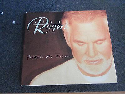 KENNY ROGERS-Across My Heart-CD-Sp DJ Copy-from ABC Radio ...