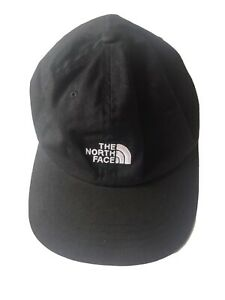 The-North-Face-Classic-Black-Cap-With-White-Typo