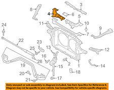 Infiniti NISSAN OEM 14-16 Q70 Radiator Core Support-Lock Bracket Left 625E51MA0A
