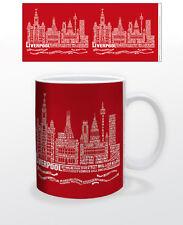 CITOGRAPHY LIVERPOOL 11 OZ COFFEE MUG TEA CUP UK ENGLAND MERSEYSIDE WEST DERBY!!