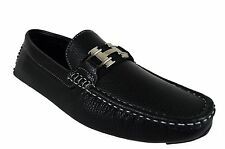 Men's Loafers Giovanni Dress Shoes Moccasin Wedding Prom Formal Medium (D,M)