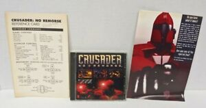 Crusader No Remorse Origin EA PC CD-ROM game + Manual 1995 - Mint Disc 1 Owner!